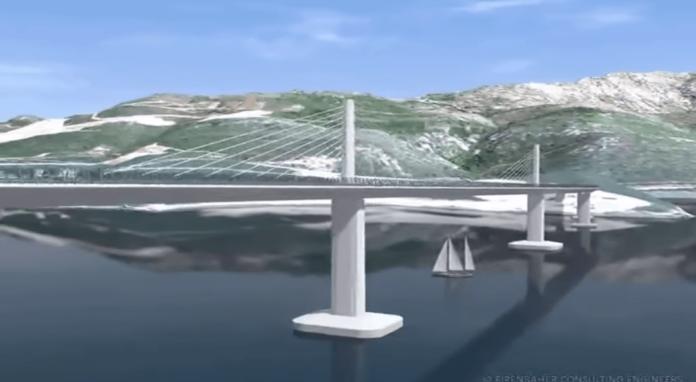 Pelješki most, Oleg Butković, Strabag