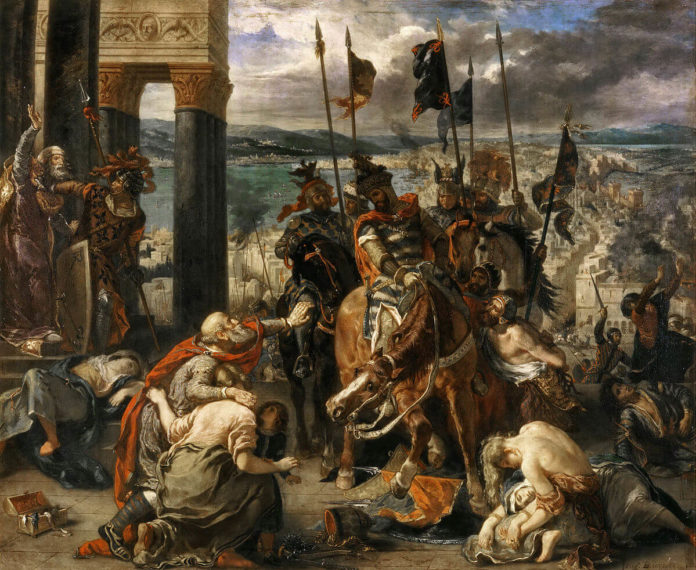 Carigrad, križarski rat, mlečani, osvajanje