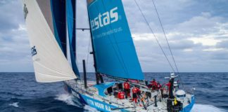 Volvo Ocean Race, Vestas 11th Hour Racing, crash