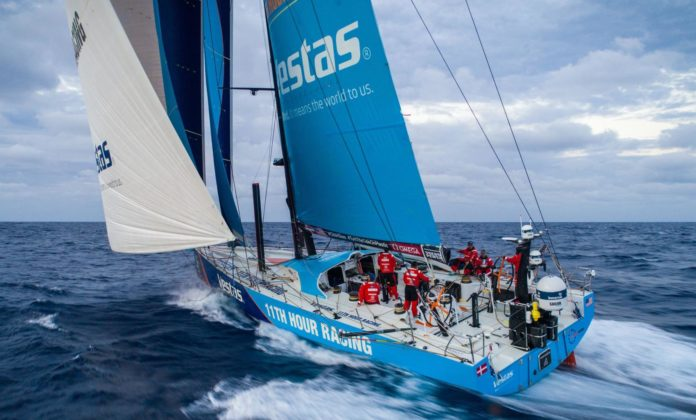 Volvo Ocean Race, Vestas 11th Hour Racing, crash