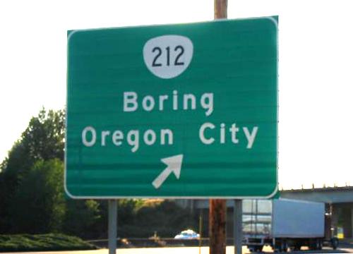 Imena, Gradovi, Boring, Oregon