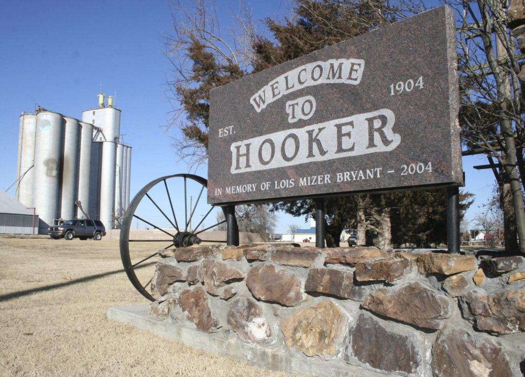 Imena, Gradovi, Oklahoma