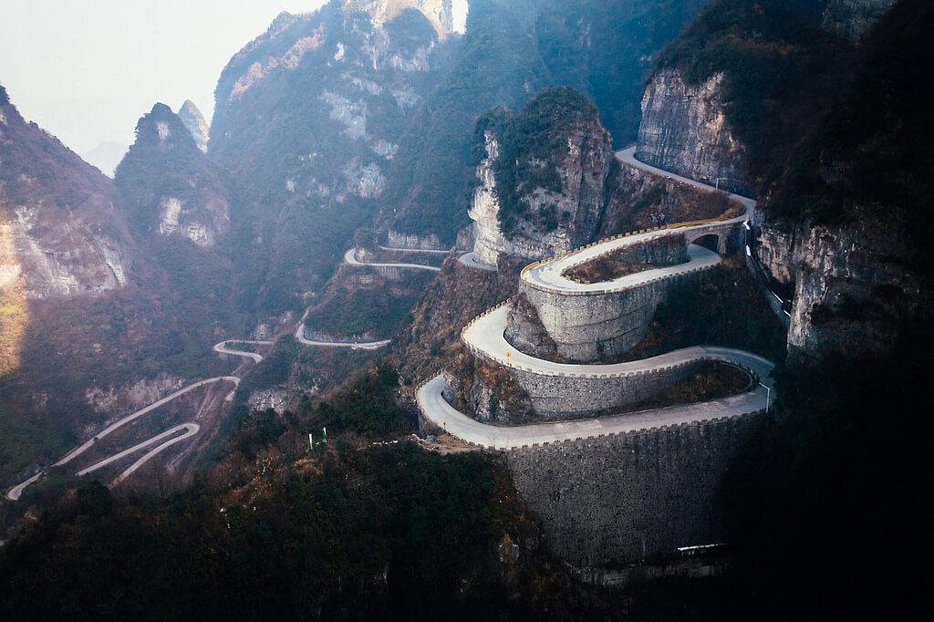 Kina, Cesta
