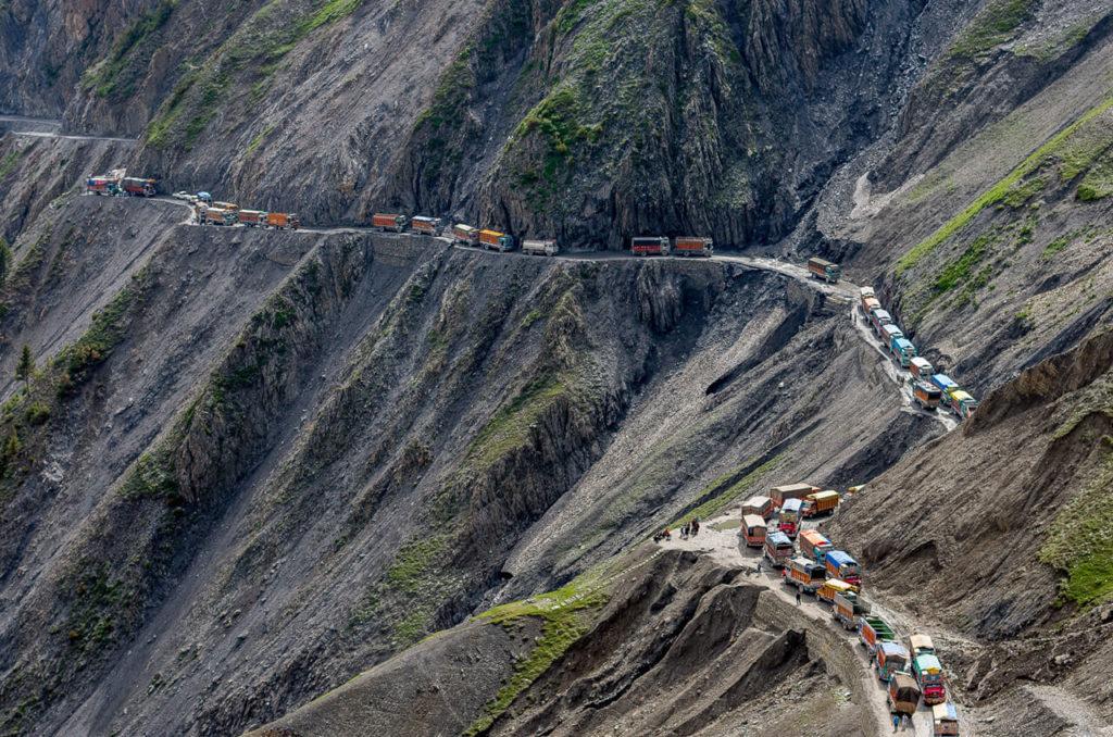 ceste, indija