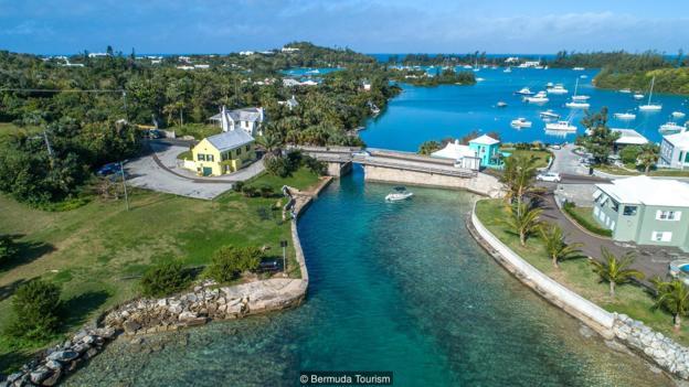 Most, Bermuda, Putovanja