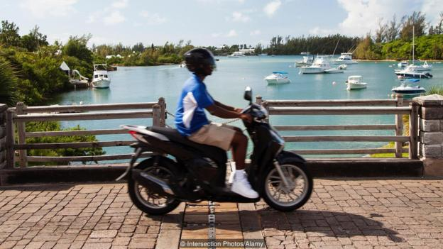 Most, Pokretni, Bermuda