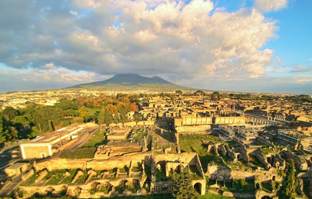Pompeji, Vulkan, Italija