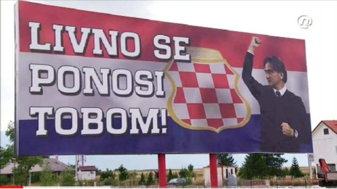 Zlatko Dalić, Livno, doček, hrvatska reprezentacija