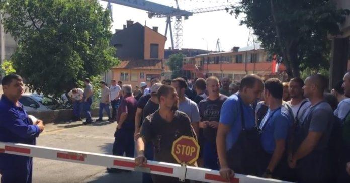 3. maj, brodogradilište, štrajk