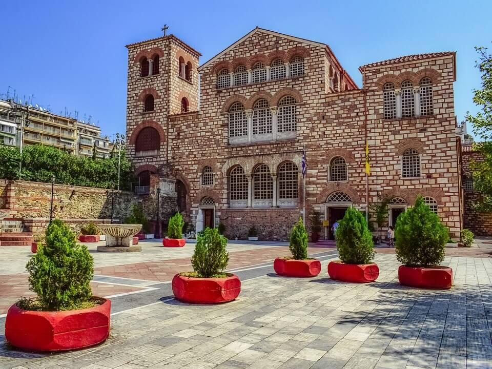 Crkva svetog Dimitrija, Grčka, Putovanja