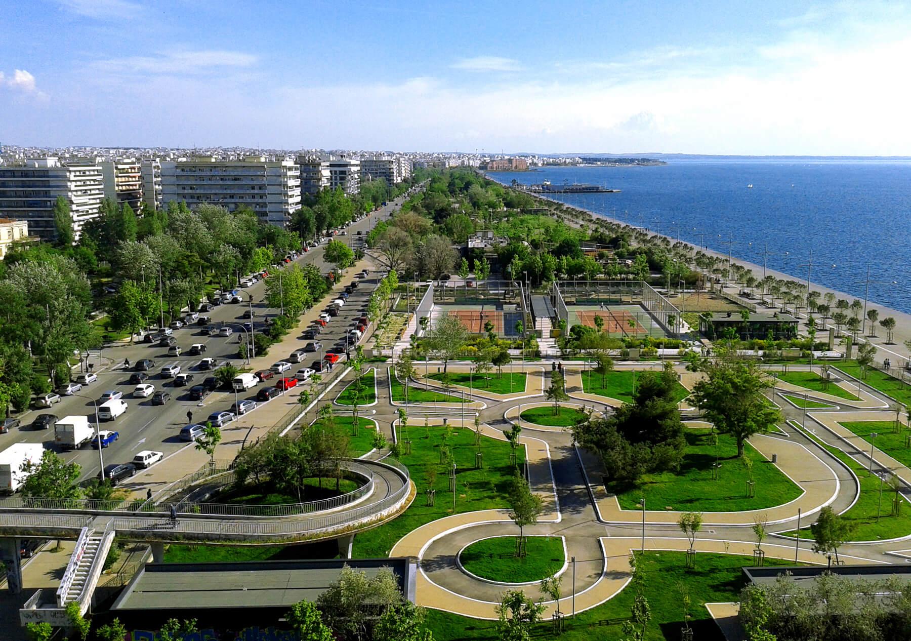 Obala, Thessaloniki, Plaža, Grčka