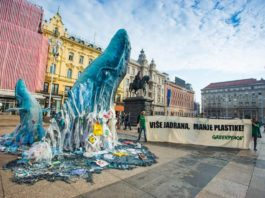 greenpeace, zagađenje, plastika, zagreb