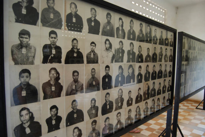 žrtve, Crveni Kmeri, Kambodža