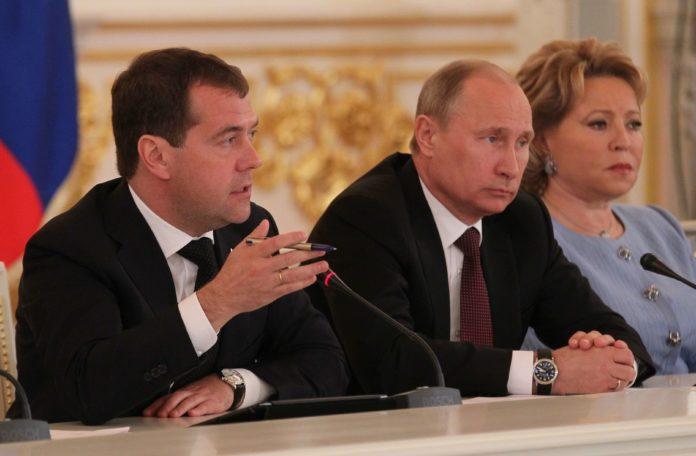 sankcije, Medvedev, Putin