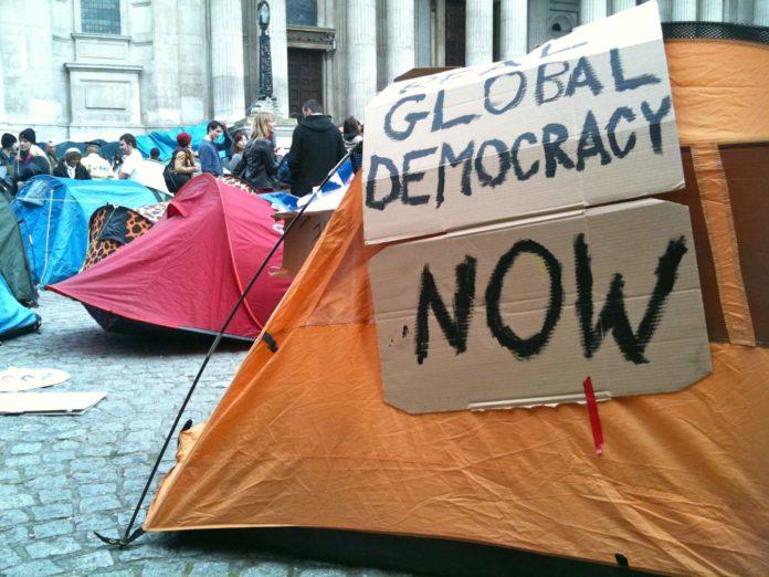 Occupy, prosvjedi, demokracija