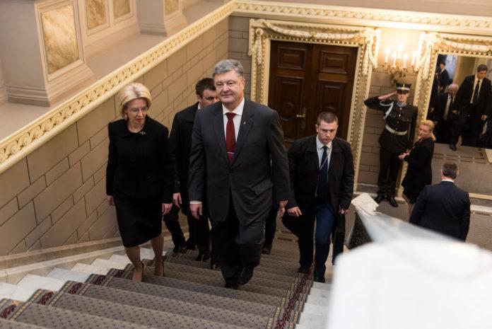 Ukrajina, Porošenko
