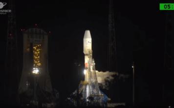 Sojuz, lansiranje, satelit