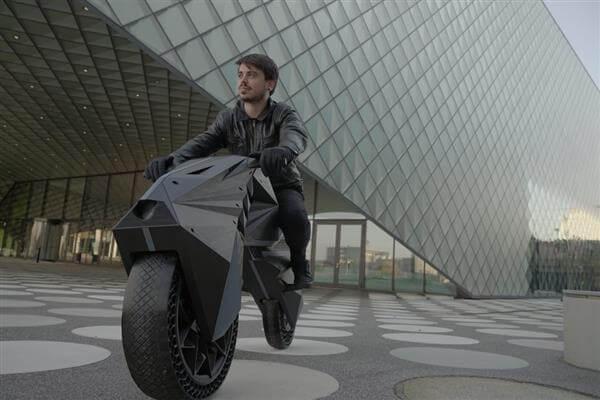 električni motocikl, 3D