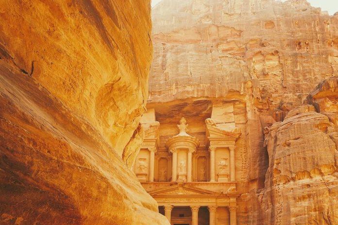Petra, Jordan, drevni grad