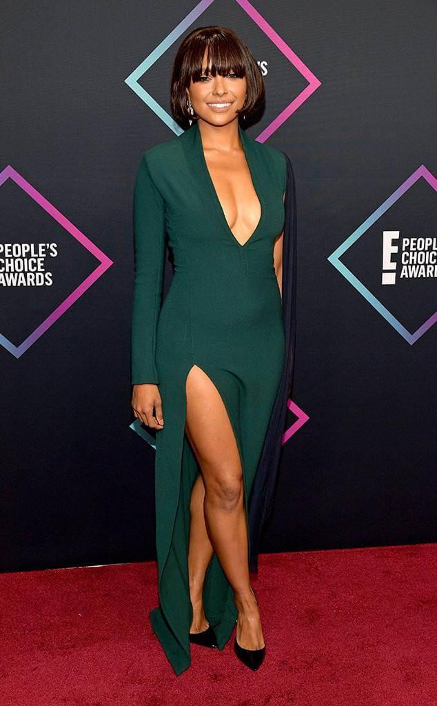 Kat Graham, People's Choice Awards, 2018, outfit