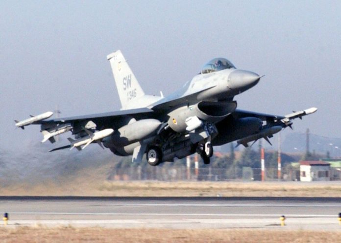 F-16, borbeni zrakoplovi