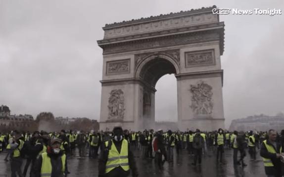 zuti prsluci, prosvjedi, Francuska, Pariz