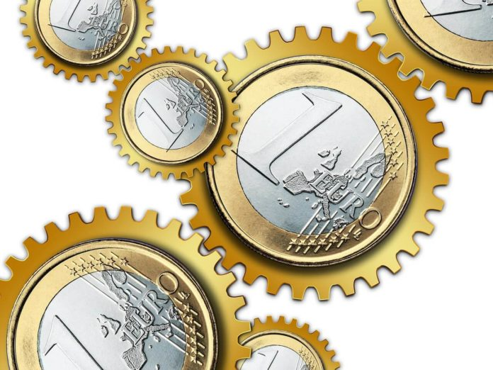 novac, Euro, financije