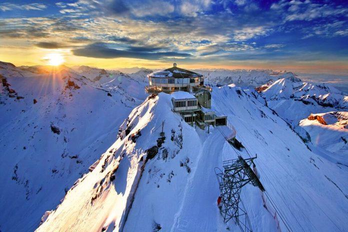 Švicarska, Alpe,
