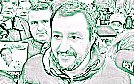 Salvini, Italija