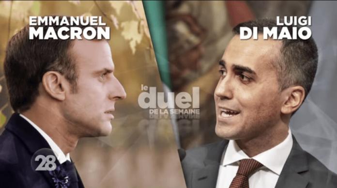 Macron, Francuska, Italija