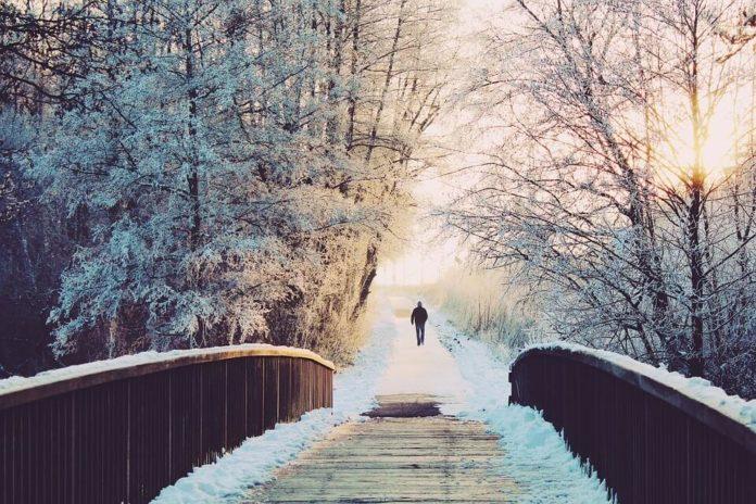 hodanje, zimsko hodanje, zdrave navike