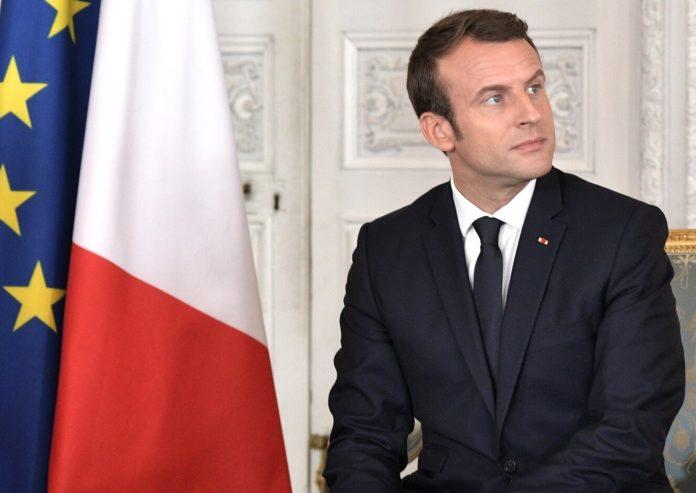 Emmanuel Macron pismo