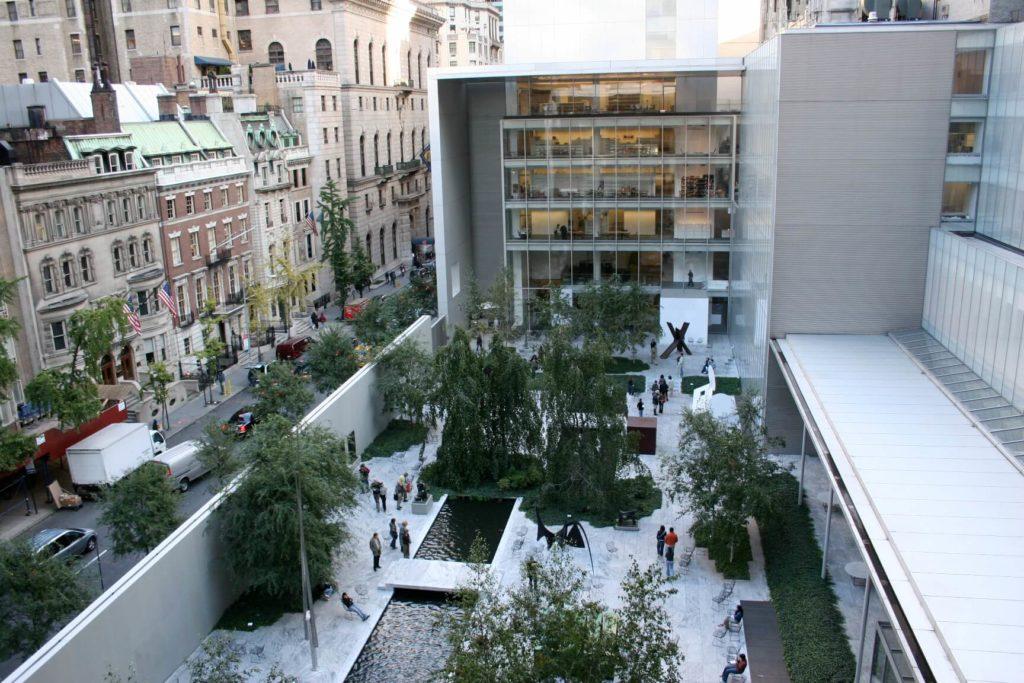 moderna; New York, art