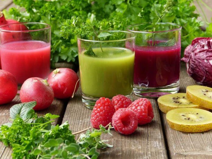 prirodni sokovi, čišćenje organizma