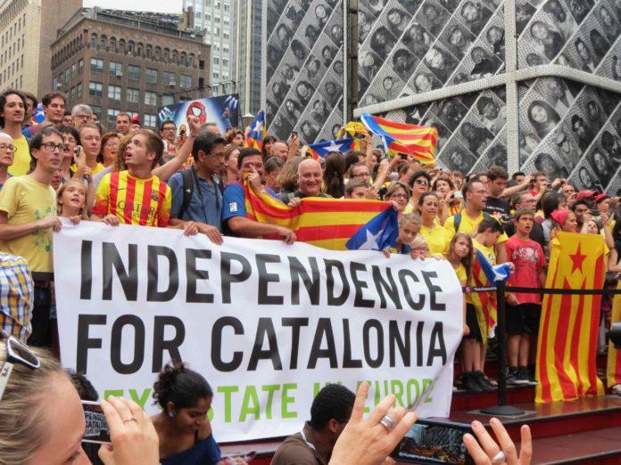 neovisnost Katalonije, prosvjed