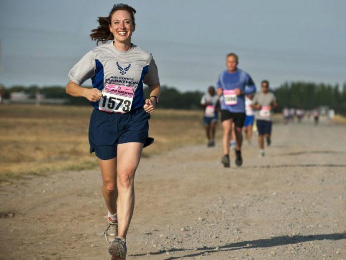 djevojka, trčanje, psihičko zdravlje