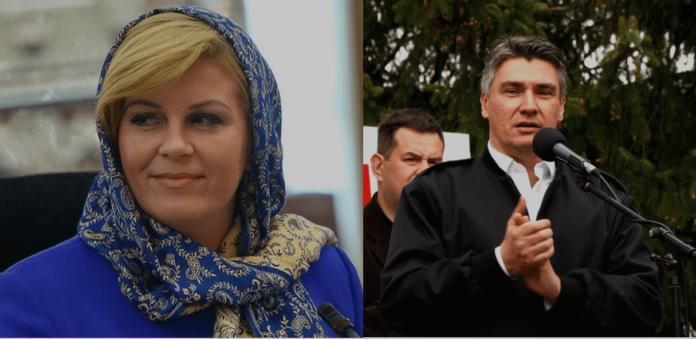 Milanović, Kolinda, predsjednička utrka,izbori