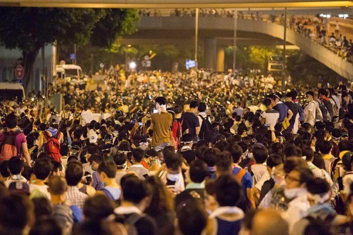 Hong Kong, prosvjedi, Kina