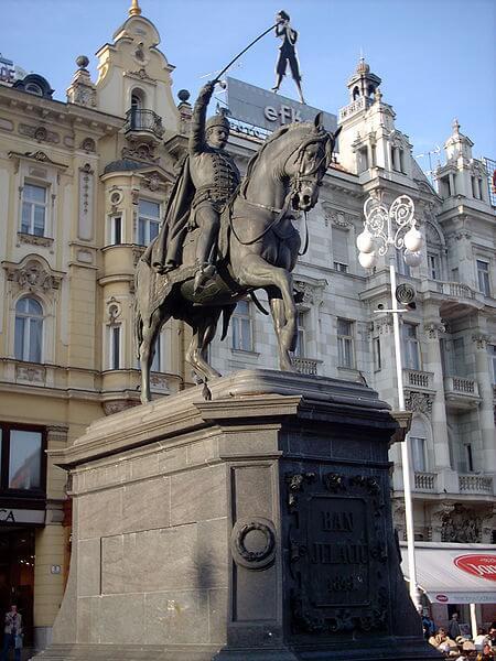 Josip Jelačić, Republika Hrvatska, ban Josip Jelačić