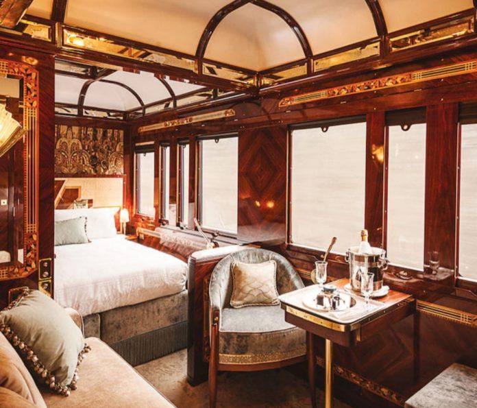 Orient Express vlak, interijer