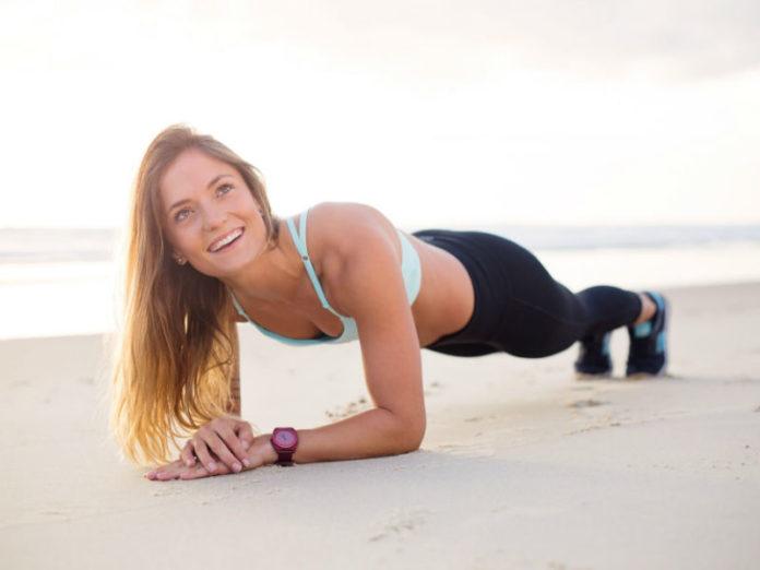 žena, vježbanje, vježbe, plank, tjelesna aktivnost
