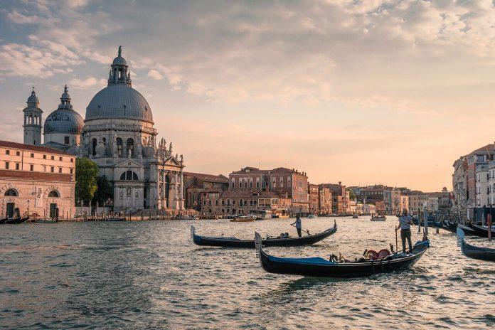 venecija, brodovi