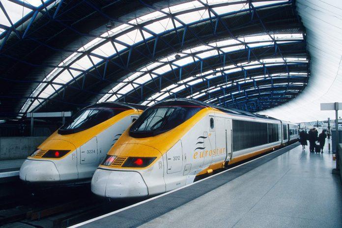 vlak, Eurostar