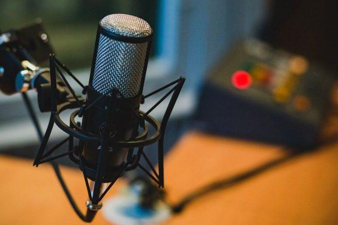 mikrofon, podcast