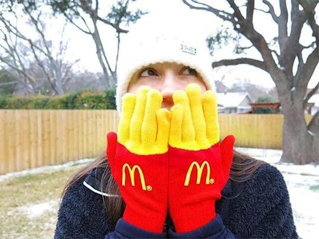 ideja, rezultat, rukavice